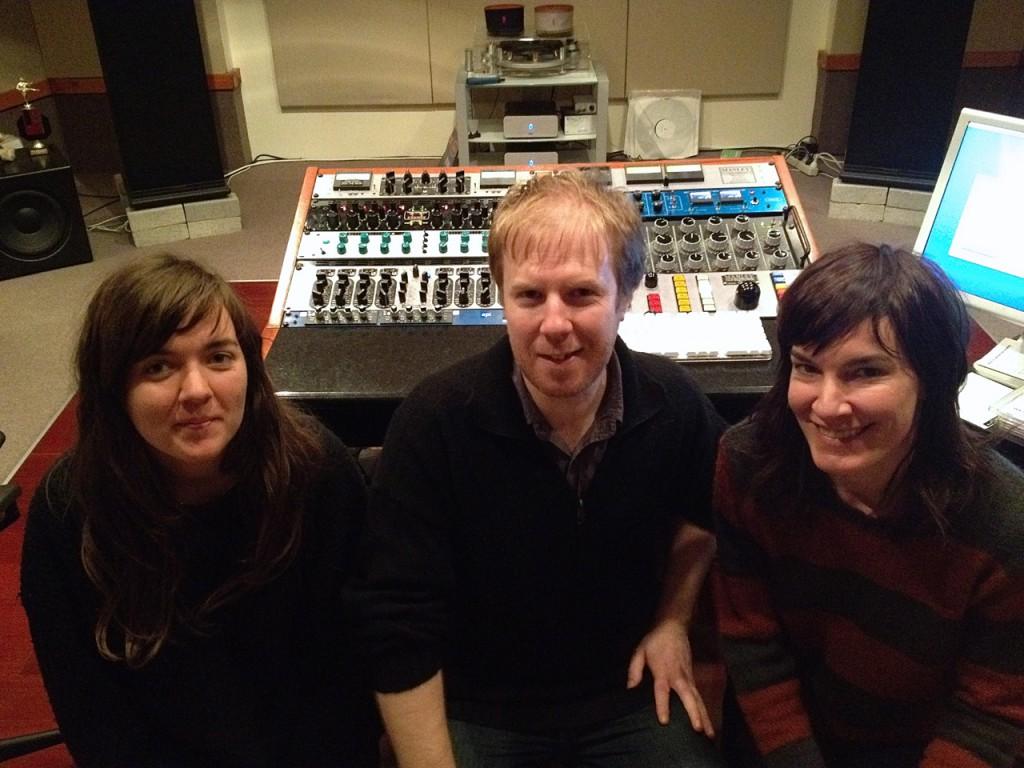 Adam Dempsey with Courtney Barnett and Jen Cloher